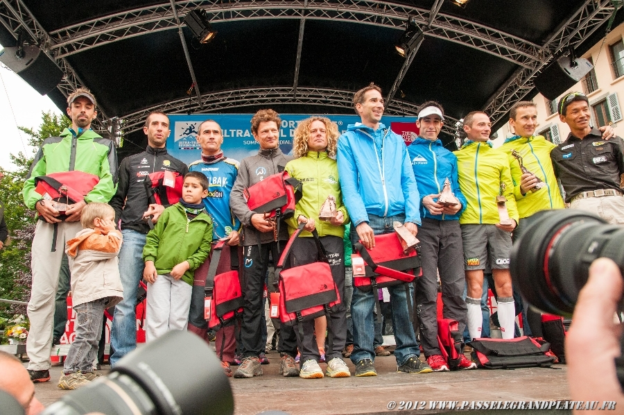 Podium place des Guides